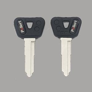 กุญแจมอเตอร์ไซค์หัวยางสติ๊กเกอร์ MX