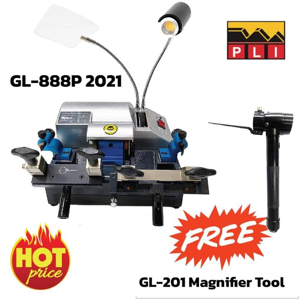 GL-888P เป็นเครื่องตระกูล 888 รุ่นประหยัดที่ปรับปรุงขยายแคร่ทั้งด้านซ้ายและด้านขวาให้กว้างขึ้น และดียิ่งขึ้น