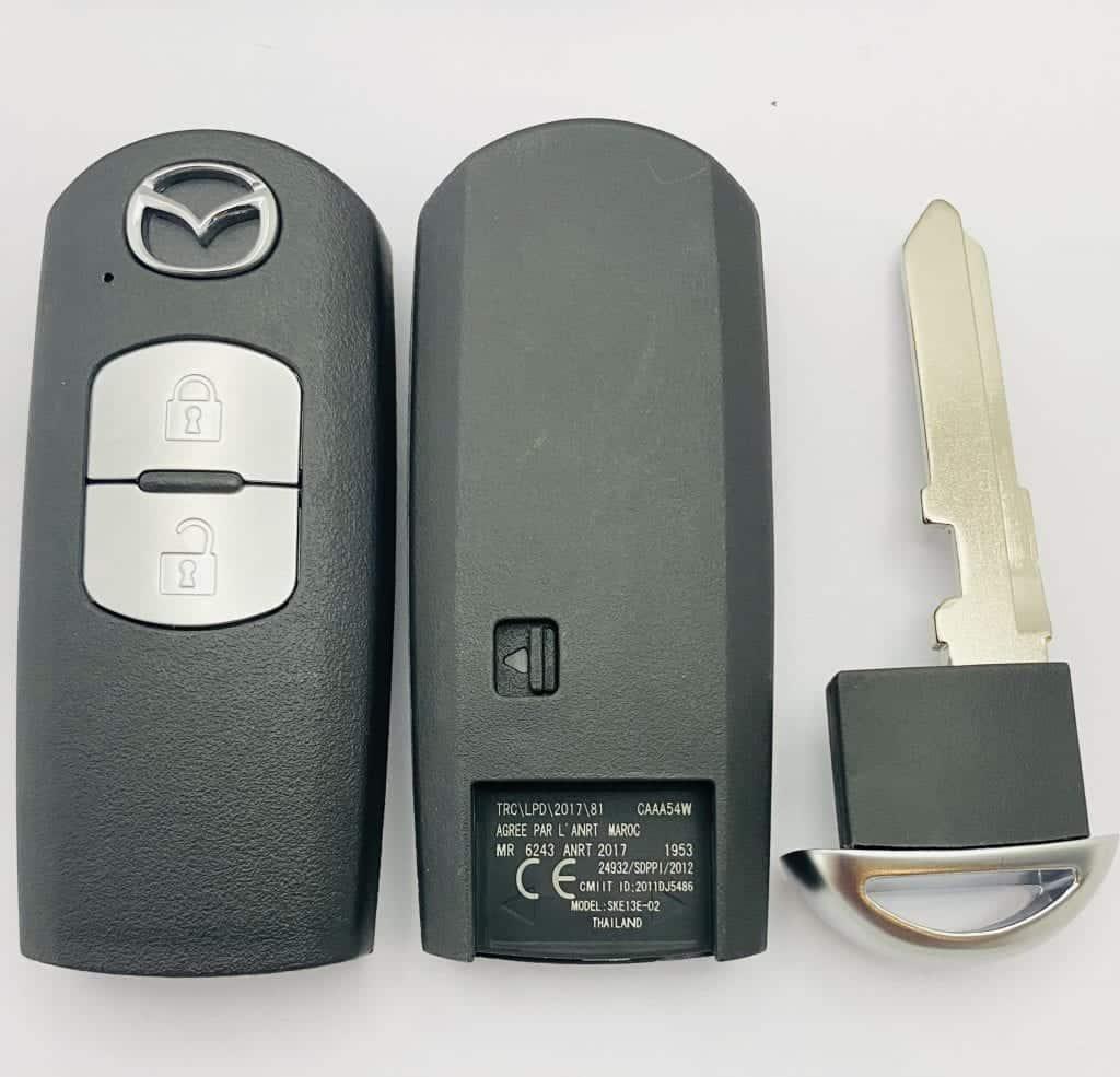 mazda smart remote 2 buttons