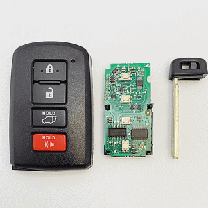smart remote camry