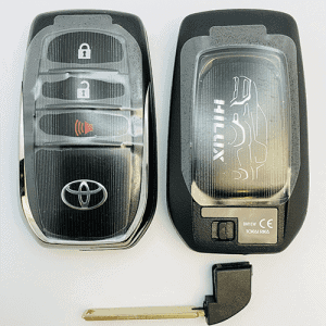 toyota smart remote hilux