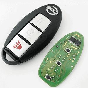 nissan tida smart remote