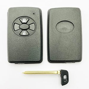 Toyota Smart Key Shell 2 Buttons with emergency key