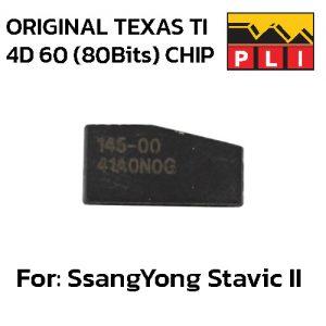 Original TEXAS TI 4D 60 (80Bits) for Ssangyong Stavic II