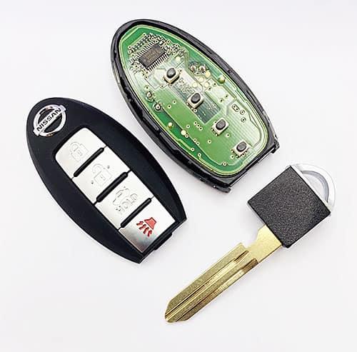 nissan smart key 3 button