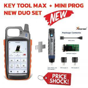 vvdikeytoolmax+miniprog-duo-set