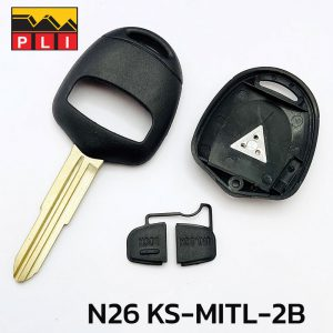 KS-MITL-2B-N26-Mitsubishi-remote-shell-2button